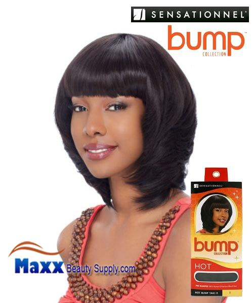 Sensationnel Bump Collection Human Hair Weave - Hot Bump Yaki 8""